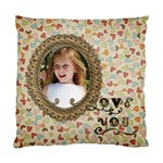 Love You Pillow - Cushion Case (One Side)
