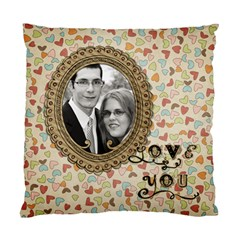 Love You Pillow 2 Sided By Marcee Duggar   Standard Cushion Case (two Sides)   Vfwh3nmthdfy   Www Artscow Com Front