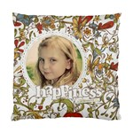 Happiness Pillow - Cushion Case (Two Sides)