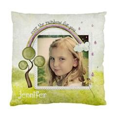 Over The Rainbow Pillow By Marcee Duggar   Standard Cushion Case (two Sides)   F10akqofgbnu   Www Artscow Com Front