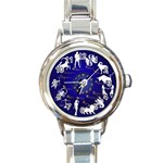 horoscope - Round Italian Charm Watch