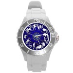 horoscope - Round Plastic Sport Watch Large