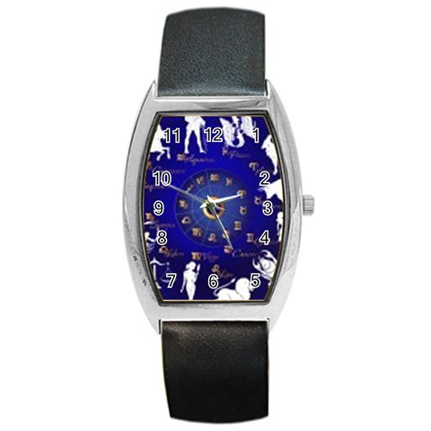 Horoscope By Divad Brown   Barrel Style Metal Watch   6cfczdqwl59w   Www Artscow Com Front