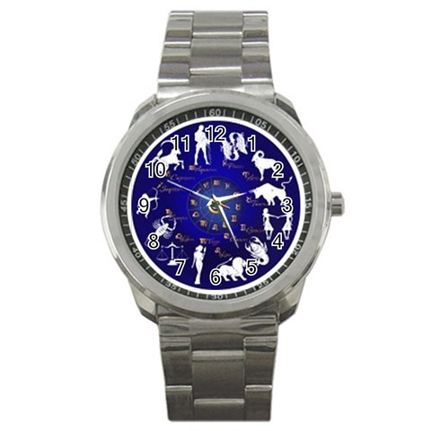 Horoscope By Divad Brown   Sport Metal Watch   Uwv06gp6jan5   Www Artscow Com Front