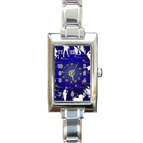 Horoscope By Divad Brown   Rectangle Italian Charm Watch   Czwke7esm4hr   Www Artscow Com Front