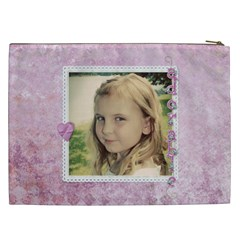 Over The Rainbow By Marcee Duggar   Cosmetic Bag (xxl)   Fd01aomzgpp7   Www Artscow Com Back