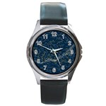 horoscope - Round Metal Watch