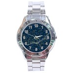 horoscope - Stainless Steel Analogue Men's Watch