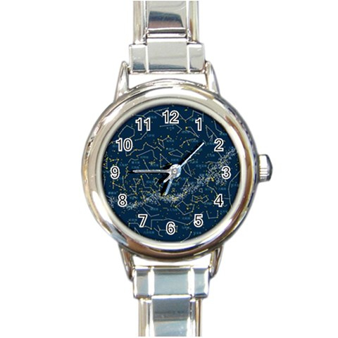 Horoscope By Divad Brown   Round Italian Charm Watch   Okqbalxso48d   Www Artscow Com Front