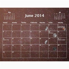 2014 Astronomical Events Calendar By Bg Boyd Photography (bgphoto)   Wall Calendar 11  X 8 5  (12 Months)   3bk6ra531e72   Www Artscow Com Jun 2014