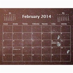 2014 Astronomical Events Calendar By Bg Boyd Photography (bgphoto)   Wall Calendar 11  X 8 5  (12 Months)   3bk6ra531e72   Www Artscow Com Feb 2014