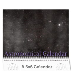 2014 Astronomical Events Calendar By Bg Boyd Photography (bgphoto)   Wall Calendar 8 5  X 6    295k9niihodj   Www Artscow Com Cover