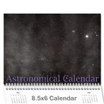 2014 Astronomical Events Calendar - Wall Calendar 8.5  x 6