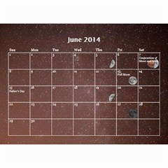 2014 Astronomical Events Calendar By Bg Boyd Photography (bgphoto)   Wall Calendar 8 5  X 6    295k9niihodj   Www Artscow Com Jun 2014