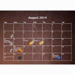2014 Astronomical Events Calendar By Bg Boyd Photography (bgphoto)   Wall Calendar 8 5  X 6    295k9niihodj   Www Artscow Com Aug 2014