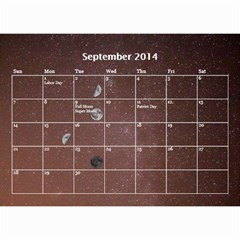 2014 Astronomical Events Calendar By Bg Boyd Photography (bgphoto)   Wall Calendar 8 5  X 6    295k9niihodj   Www Artscow Com Sep 2014