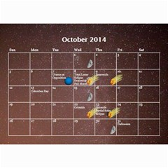2014 Astronomical Events Calendar By Bg Boyd Photography (bgphoto)   Wall Calendar 8 5  X 6    295k9niihodj   Www Artscow Com Oct 2014