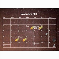 2014 Astronomical Events Calendar By Bg Boyd Photography (bgphoto)   Wall Calendar 8 5  X 6    295k9niihodj   Www Artscow Com Nov 2014