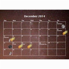 2014 Astronomical Events Calendar By Bg Boyd Photography (bgphoto)   Wall Calendar 8 5  X 6    295k9niihodj   Www Artscow Com Dec 2014