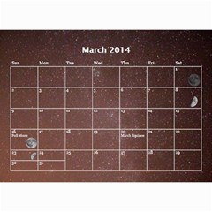 2014 Astronomical Events Calendar By Bg Boyd Photography (bgphoto)   Wall Calendar 8 5  X 6    295k9niihodj   Www Artscow Com Mar 2014