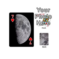 Mini Moon Cards By Bg Boyd Photography (bgphoto)   Playing Cards 54 (mini)   Eq7t3cf6y3d7   Www Artscow Com Front - Heart7