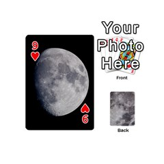 Mini Moon Cards By Bg Boyd Photography (bgphoto)   Playing Cards 54 (mini)   Eq7t3cf6y3d7   Www Artscow Com Front - Heart9