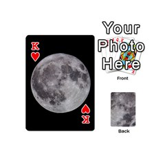 King Mini Moon Cards By Bg Boyd Photography (bgphoto)   Playing Cards 54 (mini)   Eq7t3cf6y3d7   Www Artscow Com Front - HeartK