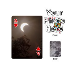 Ace Mini Moon Cards By Bg Boyd Photography (bgphoto)   Playing Cards 54 (mini)   Eq7t3cf6y3d7   Www Artscow Com Front - HeartA