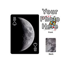 Mini Moon Cards By Bg Boyd Photography (bgphoto)   Playing Cards 54 (mini)   Eq7t3cf6y3d7   Www Artscow Com Front - Spade5