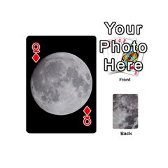 Queen Mini Moon Cards By Bg Boyd Photography (bgphoto)   Playing Cards 54 (mini)   Eq7t3cf6y3d7   Www Artscow Com Front - DiamondQ