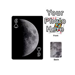 Mini Moon Cards By Bg Boyd Photography (bgphoto)   Playing Cards 54 (mini)   Eq7t3cf6y3d7   Www Artscow Com Front - Spade6