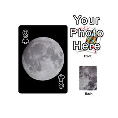 Queen Mini Moon Cards By Bg Boyd Photography (bgphoto)   Playing Cards 54 (mini)   Eq7t3cf6y3d7   Www Artscow Com Front - ClubQ