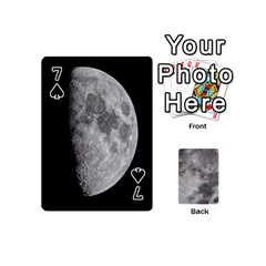 Mini Moon Cards By Bg Boyd Photography (bgphoto)   Playing Cards 54 (mini)   Eq7t3cf6y3d7   Www Artscow Com Front - Spade7