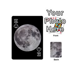 King Mini Moon Cards By Bg Boyd Photography (bgphoto)   Playing Cards 54 (mini)   Eq7t3cf6y3d7   Www Artscow Com Front - ClubK