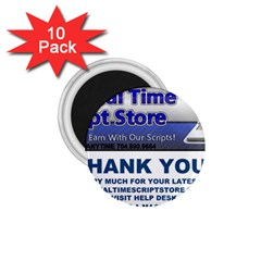 Magnet 1.75  Magnet (10 pack)  by mannescriptstore