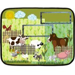 Country Blanket mini - Mini Fleece Blanket