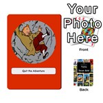 Tintin Incan Gold - Playing Cards 54 Designs