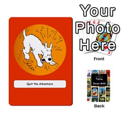 Tintin Incan Gold By James Nicholls   Playing Cards 54 Designs   3a8trjsk7t1v   Www Artscow Com Front - Spade6