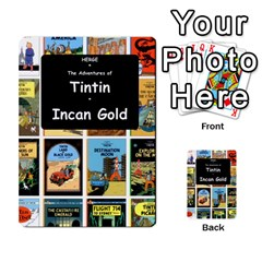 Tintin Incan Gold By James Nicholls   Playing Cards 54 Designs   3a8trjsk7t1v   Www Artscow Com Back