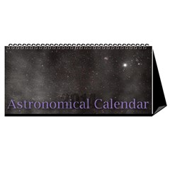 2014 Astronomical Events Desktop Calendar By Bg Boyd Photography (bgphoto)   Desktop Calendar 11  X 5    U36r54gfpca8   Www Artscow Com Cover