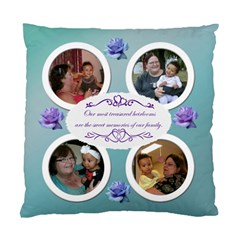 Family Cushion Case By Angeye   Standard Cushion Case (two Sides)   Xqs5ct87melt   Www Artscow Com Back