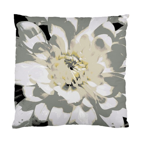 White Flower Pillow By Laurie   Standard Cushion Case (one Side)   2w4q875dyqpn   Www Artscow Com Front