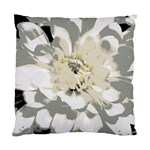 White Flower Pillow - Standard Cushion Case (One Side)