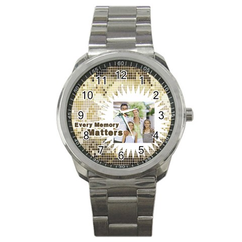 Father By Dad   Sport Metal Watch   Mg42lz1jx0st   Www Artscow Com Front