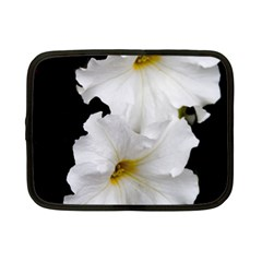 White Peonies   7  Netbook Case