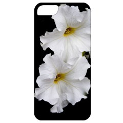 White Peonies   Apple Iphone 5 Classic Hardshell Case by Elanga