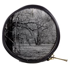 Black And White Forest Mini Makeup Case
