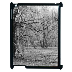 Black And White Forest Apple Ipad 2 Case (black)