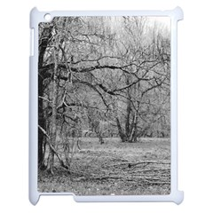 Black And White Forest Apple Ipad 2 Case (white)
