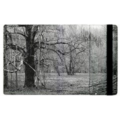 Black And White Forest Apple Ipad 2 Flip Case by Elanga